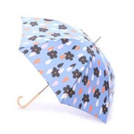 ダブリュピーシー w.p.c 長傘 花と雨 (ブルー)