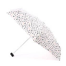 ダブリュピーシー w.p.c 折りたたみ傘 ネコドットmini (オフホワイト)