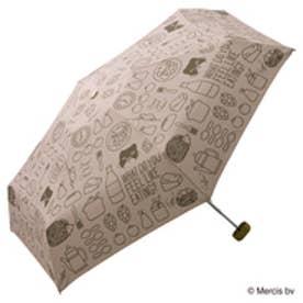 ダブリュピーシー w.p.c 折りたたみ傘 ミッフィー ブレックファーストmini (ピンク)