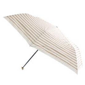 ダブリュピーシー w.p.c 日傘遮光リボンチャーム&ボーダーmini (ベージュ)