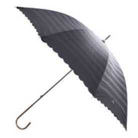 ダブリュピーシー w.p.c 日傘遮光オパールライクボーダーリボン刺繍 (ブラック)