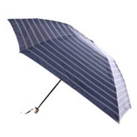 ダブリュピーシー w.p.c 日傘遮光軽量ダブルボーダーmini (ネイビー)