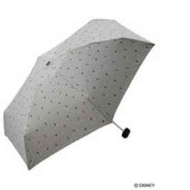 ダブリュピーシー w.p.c 折りたたみ傘 ミッキーマウスリトルmini (グレー)