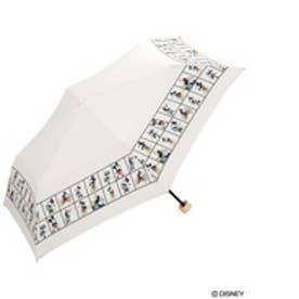 ダブリュピーシー w.p.c 折りたたみ傘 ディズニーパネルmini (オフホワイト)