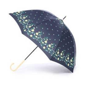 ダブリュピーシー w.p.c 雨傘 エンブロイダリープリント (ネイビー)