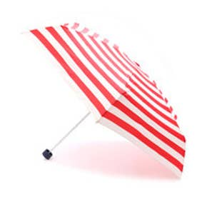 ダブリュピーシー w.p.c 雨傘 ボーダー18SSmini (レッド)