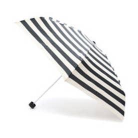 ダブリュピーシー w.p.c 雨傘 ボーダー18SSmini (ブラック)