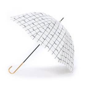 ダブリュピーシー w.p.c 雨傘 リボンチェック (オフホワイト)