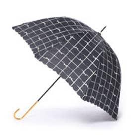 ダブリュピーシー w.p.c 雨傘 リボンチェック (ブラック)