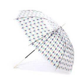 ダブリュピーシー w.p.c 雨傘 ビニール傘 (サカナチェックPK)
