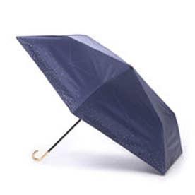 ダブリュピーシー w.p.c 日傘 晴雨兼用 遮光リムスターmini (ネイビー)