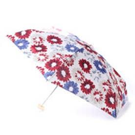 ダブリュピーシー w.p.c 雨傘 ブラシタッチフラワーmini (レッド)