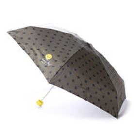ダブリュピーシー w.p.c 雨傘 スマイリーフェイスmini (カーキ)