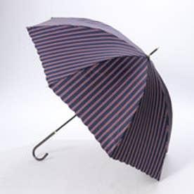 ダブリュピーシー w.p.c 雨傘 ストライプ (ネイビー)