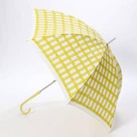 ダブリュピーシー w.p.c 雨傘 トリチェック (イエロー)