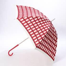 ダブリュピーシー w.p.c 雨傘 トリチェック (レッド)