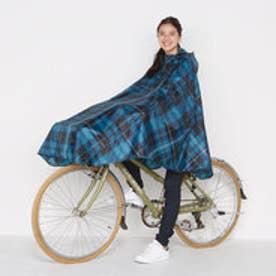ダブリュピーシー w.p.c 自転車用レインポンチョ チャリーポンポン (チェック)