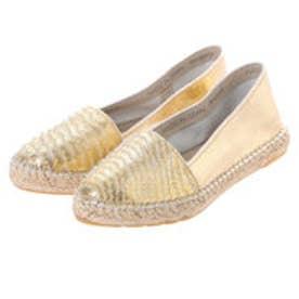 銀座ワシントン ワシントン靴店 WASHINGTON 315-810730 キラキラジュートスリッポン (ゴールド)