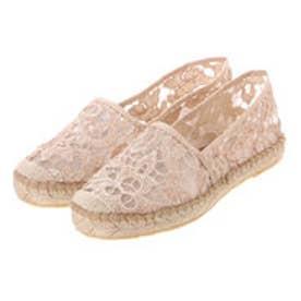 銀座ワシントン ワシントン靴店 FABIOLAS 315-101100 レースジュートスリッポン (ベージュ)
