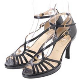 銀座ワシントン ワシントン靴店 SALON DE WASHINGTON 384-S9105-99 クロスベルト&アンクルストラップサンダ