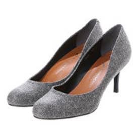 銀座ワシントン ワシントン靴店【大きめサイズ】WASHINGTON 426-1622L アーモンドトゥのプレーンパンプス (ブラック)