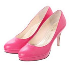 銀座ワシントン ワシントン靴店 327-SM18103 WASHINGTON 2cm厚ストームのプレーンパンプス (ピンク)