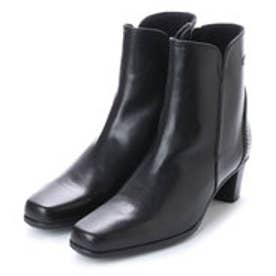 銀座ワシントン 851-65400 美シルエットショートブーツ (ブラック)