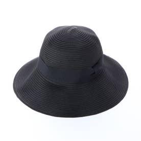 JOウォッシャブルキャペリンハット (ブラック)