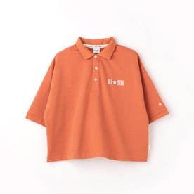 CONVERSEドロップショルダーポロシャツ (10オレンジ)