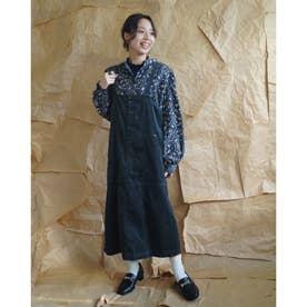 コーデュロイジャンパースカート (60ブルー)