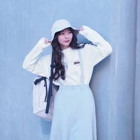 バック刺繍ロングスリーブTシャツ (28オフホワイト)