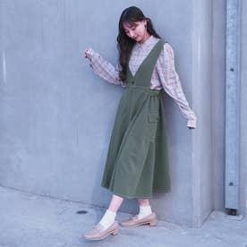 2WAYジャンパースカート (40グリーン)
