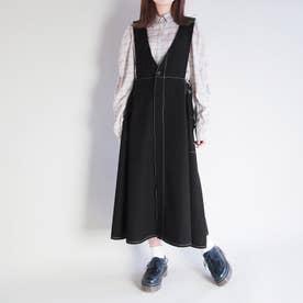 2WAYジャンパースカート (49ブラック)