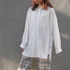 【WEB限定】バックスリットシャツ (28オフホワイト)