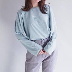 ボーダーロングスリーブTシャツ (60ブルー)