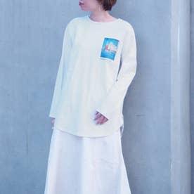 チュニックロングスリーブTシャツ (28オフホワイト)