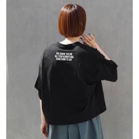 CONVERSEポケットワッペンTシャツ (49ブラック)