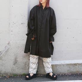 【WEB限定】キャンディスリーブチュニックシャツ (49ブラック)