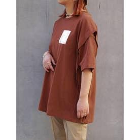 カッティングTシャツ (10オレンジ)