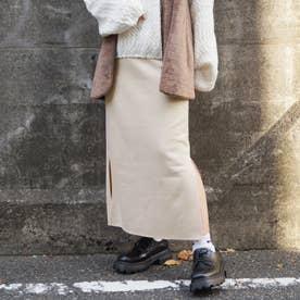 カットスウェードスカート (28オフホワイト)