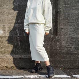【CONVERSE】裏毛スウェット スカート (28オフホワイト)