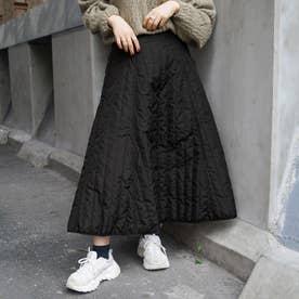 キルティングスカート (49ブラック)