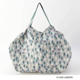 LISA LARSON×Shupatto バッグ L OL ハリネズミの森 (その他)
