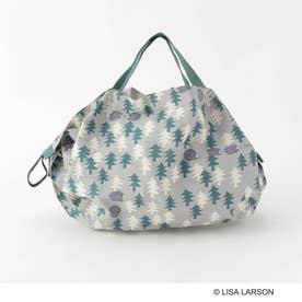 LISA LARSON×Shupatto バッグ S OL ハリネズミの森 (その他)