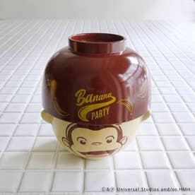 Curious George (おさるのジョージ) BP 汁椀茶碗セット ミニ BR (その他)