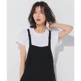 【ONWARD MAG】フレンチ スリーブ  IT Tシャツ (ホワイト系)