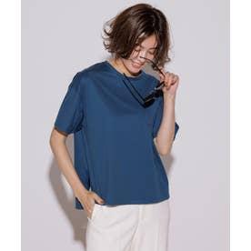 【洗える】コットンジャージー ポケット Tシャツ (オーシャン系)