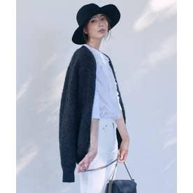 【中村アンさん着用】ボア アウター(番号2G45) (チャコール系)
