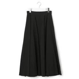 【先行予約】ナイロンリヨセルワッシャー スカート (ブラック系)