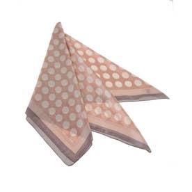 ドットスカーフ (ピンク)